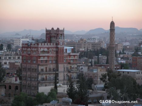 View over Sana'a.