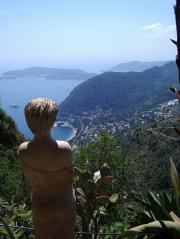 Holidays with a goddess in Eze