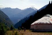 Big Almaty River Valley - yurts to rent for accommodation