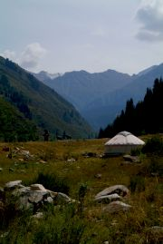 Big Almaty River Valley