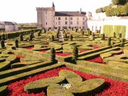 Villandy Chateau & its gardens.