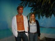 madame tussauds- me and brad pitt ;)