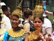 Performers at Angkor Wat