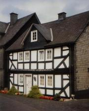 Typical house in Bad Berleburg's old town