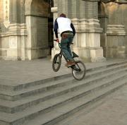 BMXer in Beijing