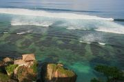 view from Blue Point Bay Villa + Spa Hotel @ Uluwatu