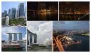 Marina Bay in 2010, and present day