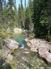 Mentioned earlier...deep green pools off the beaten track