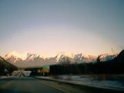 The Rockies outside of Banff townsite