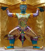 Ramakien Figure - Grand Palace