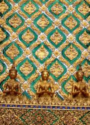 Gold Angel Guardians at the Grand Palace
