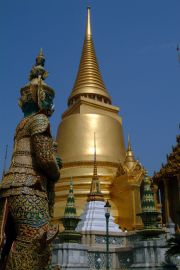 The Golden Stupa at the royal complex