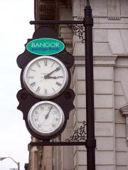 The Bangor Savings Bank Clock