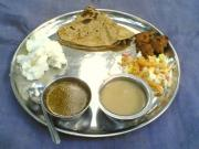 Delicious Maharastrian Food is Served Here