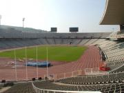 This is our Olympic Stadium, where play the football team Espanol