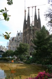 La Sagrada Familiar, the symbol of Barcelona