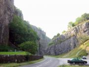 Cheddar gorge, the deepest in southern UK