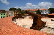 The fort at the Praca de Se.