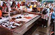 Harbour market stall