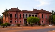 Bissau - ruined Presidential Palace