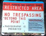 Area 51 Road Sign