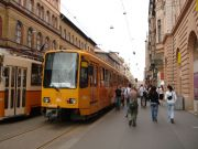 A city full of trams