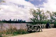 The Costanera Sur Ecological Reserve is a green area by the River Plate, in the southern corner of t