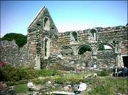Priory remains, Iona