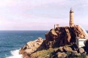 Lighthouse in Cabo Vilán, Galicia (Spain)
