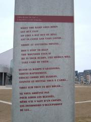 A warning to soldiers on D-Day