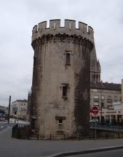 The marina is a short walk from this tower, a remnant of the Chateau Ducal