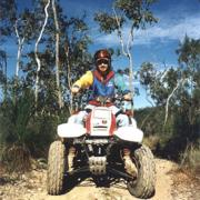Quad biking south of Cairns