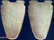 Narmer palette one of the most famous master pieces in the National Egyptian museum