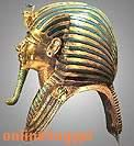 The golden mask of king Tut