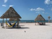 The closest beach to Campeche is Playa Bonita (Not that great)