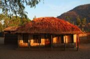 Typical house at the Lake Malawi