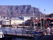 The V&A Waterfront and Table Mountain