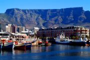 Table Mountain viewed from The Waterfront
