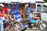 Tricycles in Cebu
