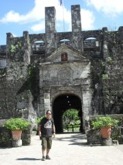Fort San Pedro is the oldest and smallest fort built by Spanish in the Philippines in 1739