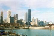 The Chicago skyline, from Navy Pier