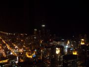 City at night from the Sears Tower