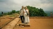 On top of the rock fortress, Sigiriya