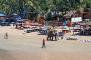 Palolem, once paradise now tourist territory