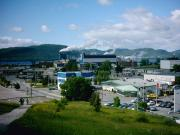 The Paper Mill and downtown Corner Brook
