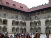 Courtyard of the Wawel Castle