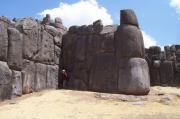 Pam gives perspective, Sachsaywaman