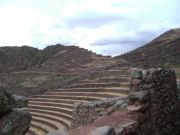 the terraces at Pisac