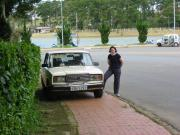 A Lada - my wife's first car