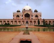 Humayun's Tomb, said to be an inspiration for the Taj Mahal